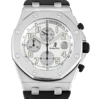 Audemars Piguet Royal Oak Offshore Homme Blanc arabe 26020ST.OO.D001IN.01.A