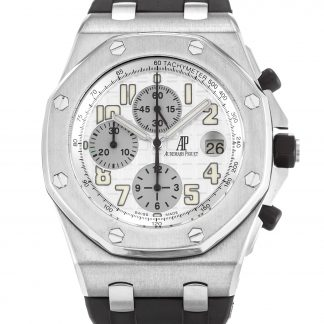 Audemars Piguet Royal Oak Offshore Homme Blanc arabe 26020ST.OO.D001IN.02.A