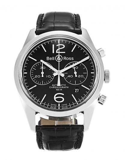 Bell and Ross  Homme Baton noir BR126-94