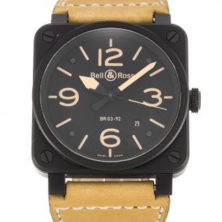 Bell and Ross  Homme Quartier noir arabe BR03-92-S
