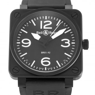Bell and Ross  Homme Quartier noir arabe Carbon