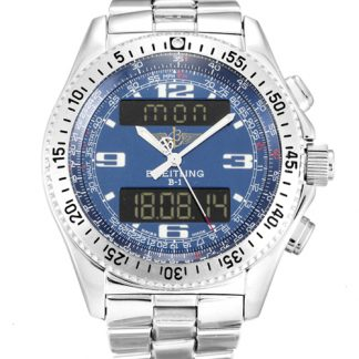 Breitling Aerospace Homme Blue Quarter Arabe A68362