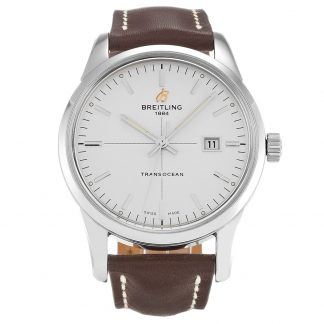 Breitling Transocean Homme argent A10360