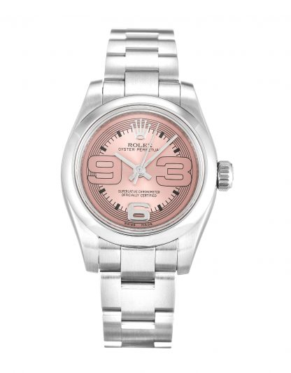 Rolex Oyster Perpetual Femme Saumon Maxi 176200